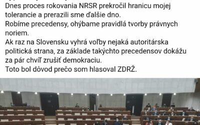 Dovolím si tu dať komentár kolegu Mariana Viskupiča.