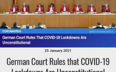 V Nemecku súdy začínajú vyhlasovať lockdowny za protiústavné.