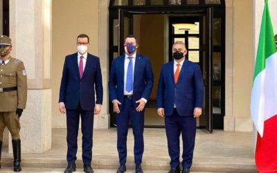 Poľský premiér, maďarský premiér a Matteo Salvini sa včera stretli, aby dohodli vznik novej politickej aliancie v rámci EÚ.